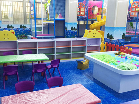 Ocean theme Indoor Playground Case in GZ