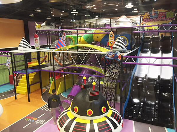 Commercial Amusement Park Indoor Playground Equipment in Nanjing