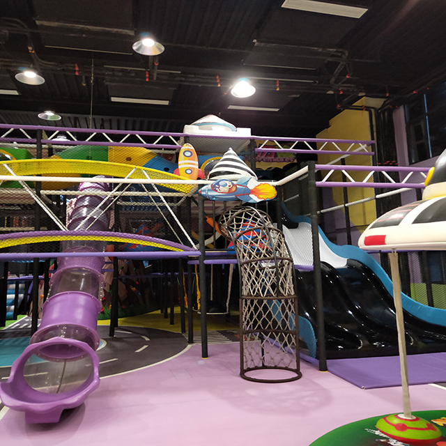 Soft indoor playground customer case from Nanjing