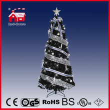 (T210R-H01) Revolving Lighting Christmas Tree