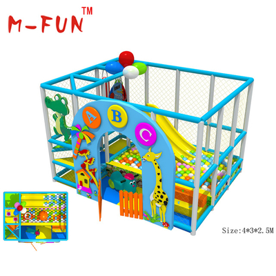 Brightly colored indoor play centre