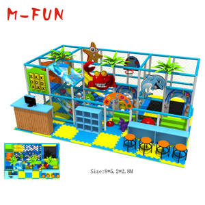 Soft play area for amusement park