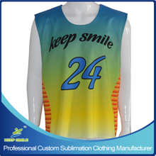 Custom Sublimation Boy's Lacrosse Reversible Top