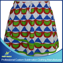 Custom Sublimation Girl's Lacrosse Skirts Dress for Sports Clothing