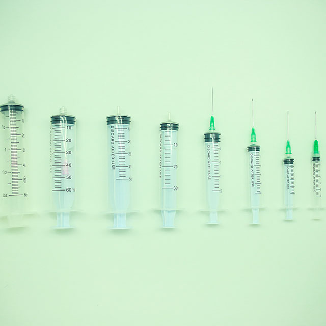 Disposable Syringe 3Parts