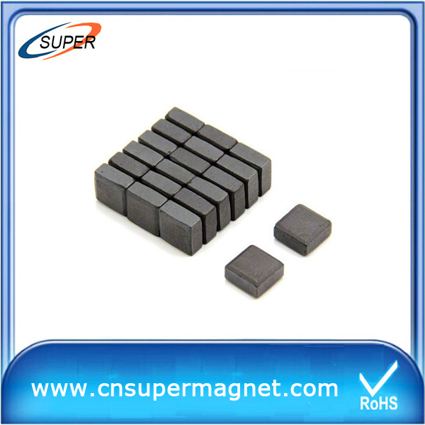 Block barium Y25 ferrite magnet for motor core
