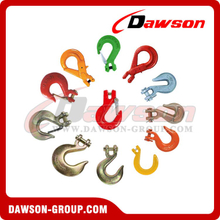 Drop Forged Alloy Steel Clevis Type Hook for Lifting Chains