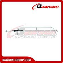 "CB-203GSH1 1.5"" Cargo Bar With Welded Hoops"