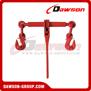 G80 Ratchet Binder With Safety Hooks to EN 12195-3, Grade 80 Ratchet Type Load Binder