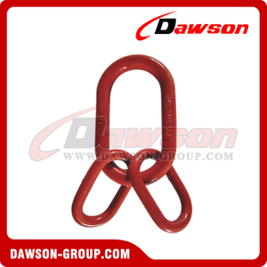 DS092 G80 U.S. Type Forged Master Link Assembly for Wire Rope Lifting Slings / Chain Slings