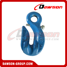 G100 / Grade 100 Special Eye Grab Hook with Safety Pin for Adjust Chain Length