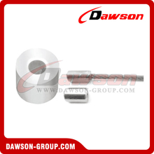Wire Rope Aluminum Stop Buttons