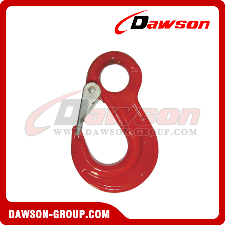 DS334 G80 Eye Sling Hook with Cast Latch