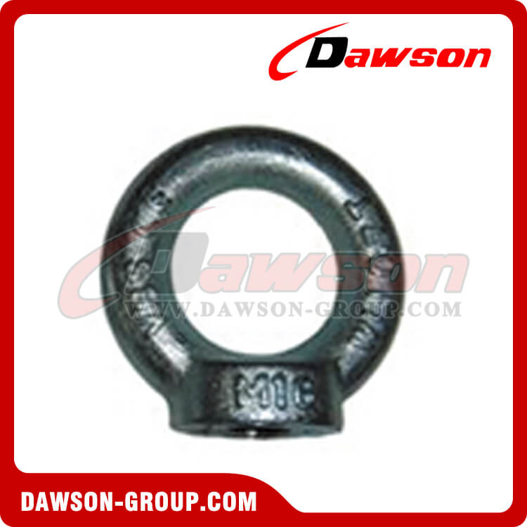 GALVANIZED EYE NUTS DIN582 LIFTING RING NUT