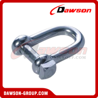 Stainless Steel European type Shackle Square Head Pin