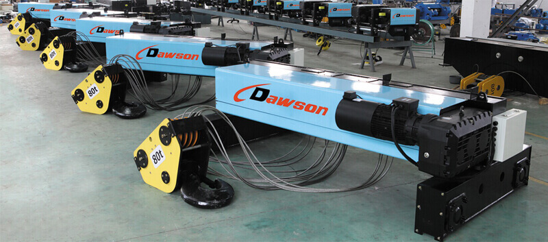 electric wire rope hoist - Dawson Group Ltd. - China Manufacturer, Supplier, Factory, Exporter