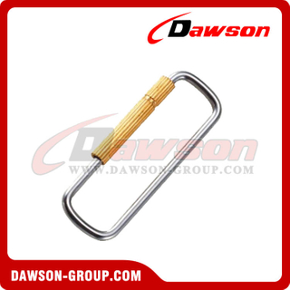 Stainless Steel Square Ring With Brass Screw