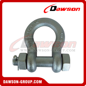 DS362 High Strength Bolt Type Bow Shackle