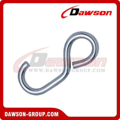 Stainless Steel Simple S Hook