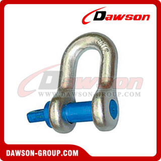AS2741 Forged Alloy Grade S Dee Shackle With Screw Pins