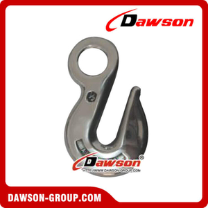Stainless Steel Eye Hoist Hook