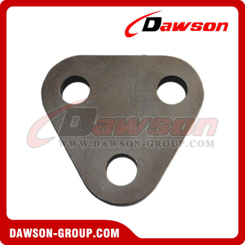 Three Hole Triangle Plate, Mooring Plate
