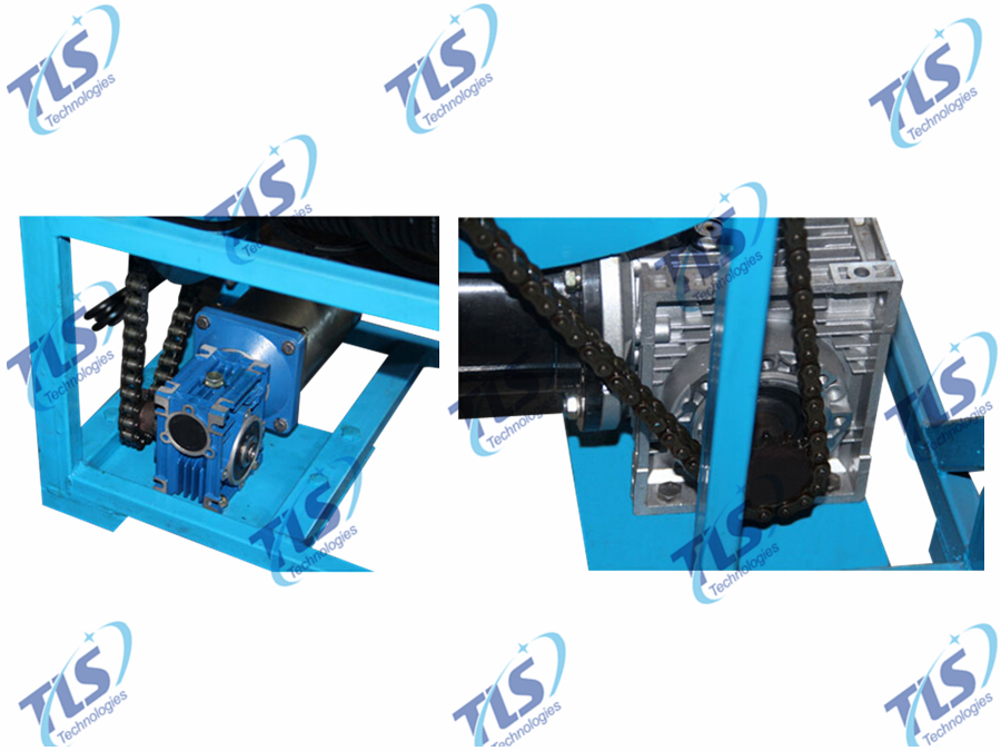 Electric Winch for Borehole Inspection Camera System-2