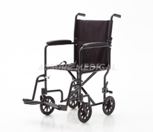 AL-BL03 Aluminum Light Weight Foldable Transport Wheelchair