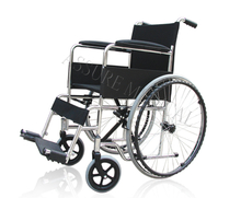 YJ-1110D Economy Steel Manual Wheelchair