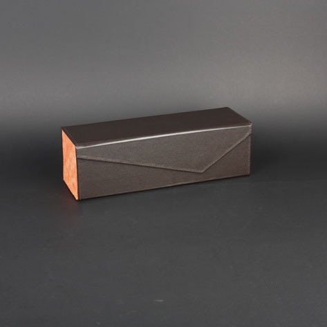 Wine Box Manufacturer faux leather wholesale wine boxes