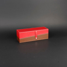 Wine Box Manufacturer pu leather direct sale single bottle leather made wine box