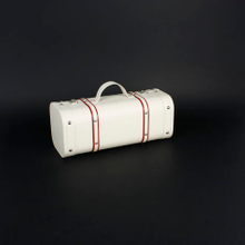 Wine Box Manufacturer leather pu white cardboard wine carrier