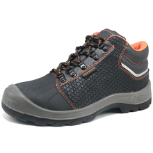 Shock Absorber Oil Slip Resistant Anti Static Safety Shoes for Construction