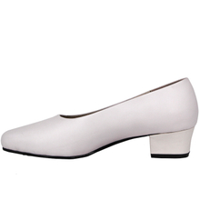 Women's white fashion office shoes 1114