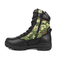Camouflage combat military tactical boots 4279