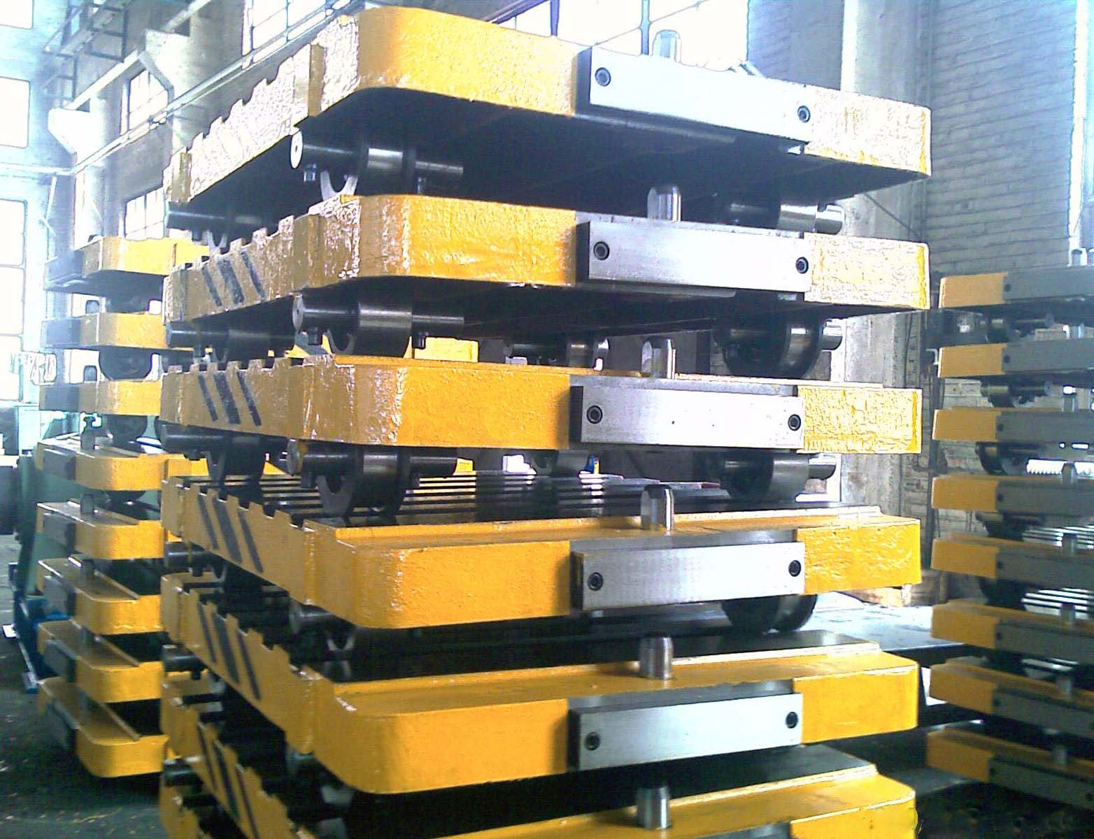 Pallet Cars used for automatic molding line