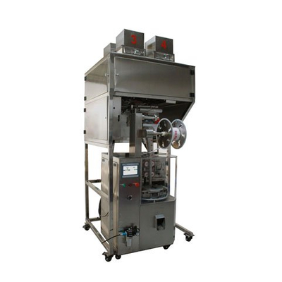 Triangle nylon tea bag packing machine with Pyramid tea bag packaging machine ,Germany Siemens control system, Siemens servo, cloud control , 50% smaller noise