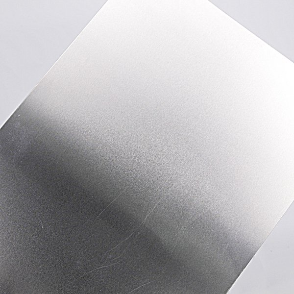 Aluminum Flat Sheet in Silver with 0.019 in Thickness