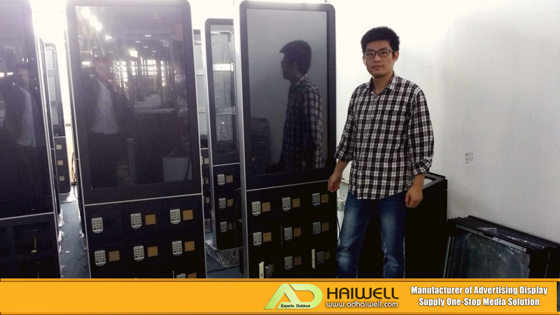 China-Proveedor-Moble-Phone-Charging-Station-Digital-Signage-Totem