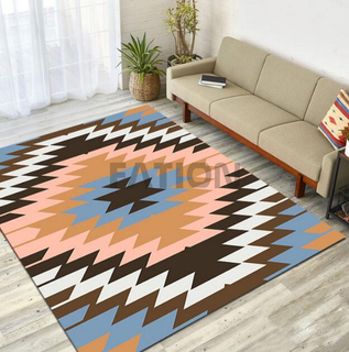 Modern Print Floor Carpet Anti-slip Bath Rug
