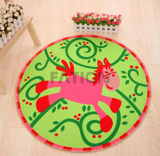 Cute Animal Design Print Rug Decor Door Mat