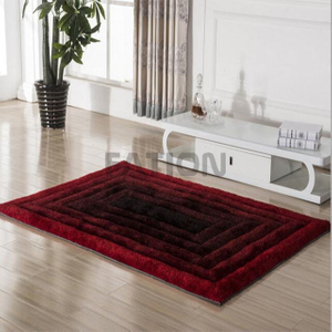 High Density Soft Shaggy Carpet Bedroom Area Rug