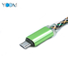 USB Charger Cable with Aluminum Shell for Micro