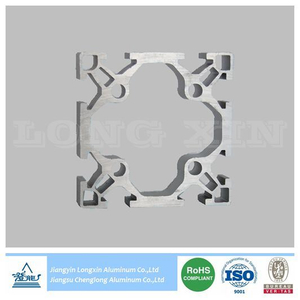 Sliver Anodized Aluminium Extrusion for Indutrial
