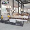 High Quality Plastic Conical Co- Rotating Twin Screw Extruder Plastic Compound Machine