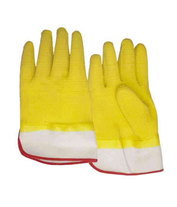 3212 fully dipped anti slip latex working safety gloves
