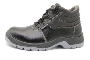 HS5000 PVC injection leather safety boots