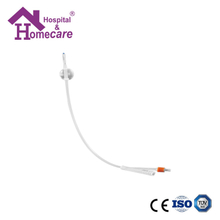 HK01g 100% Silicone Foley Catheter Couvelaire tip