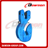 DS1024 G100 Special Clevis Grab Hook With Safety Pin for Adjust Chain Length