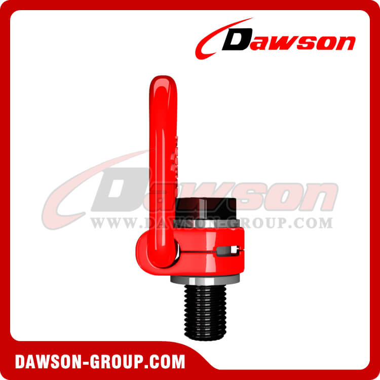 G80 Pivoting Lifting Screw, Alloy Steel Rotation Side Pull Lifting Points - China Supplier, Factory
